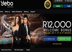 get the best online casino bonuses at Yebo Casino