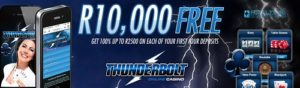 thunderbolt bonus and promotions