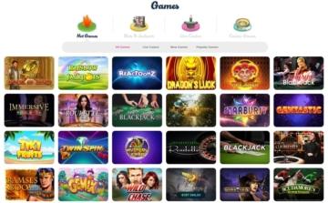 Casino Joy Games Lobby
